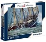 Пазл. Clementoni. Парусная яхта Белем. Шторм. 1000 элементов (39350)