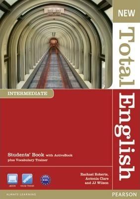 "Купить книгу ""New Total English. Intermediate. Students' Book with Active Book Pack"""