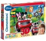 Пазл. Clementoni. Эффект 3D. Mickey Mouse. 104 элемента (20605)