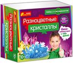 Набор для опытов. Разноцветные кристаллы - купить онлайн