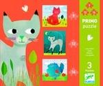Пазл. Djeco. Кошки 3 в 1 (DJ07136) - купить онлайн