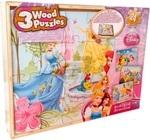 Пазл деревянный. Spin Master. Принцессы 3 в 1 (SM98297/6033126)
