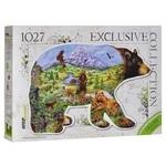 Пазл. Step Puzzle. Контур-серия. Медведь. 1027 эементов (83501)