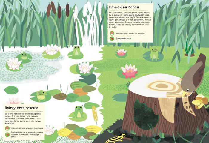 """Купить книгу """"Моя книга природи. У лісі"""""""