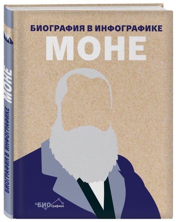 """Купить книгу """"Моне. Биография в инфографике"""""""