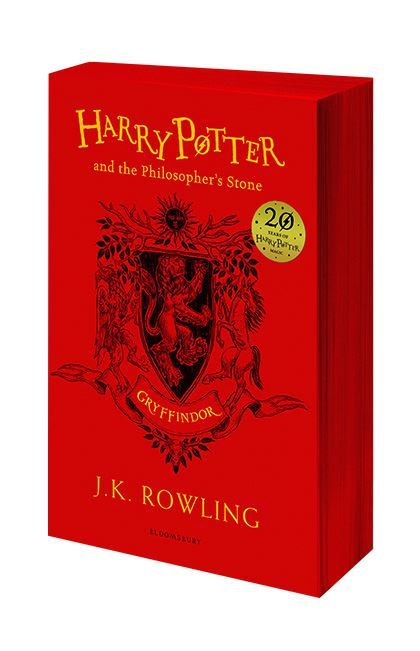 "Купить книгу ""Harry Potter and the Philosopher's Stone (Gryffindor Edition)"""