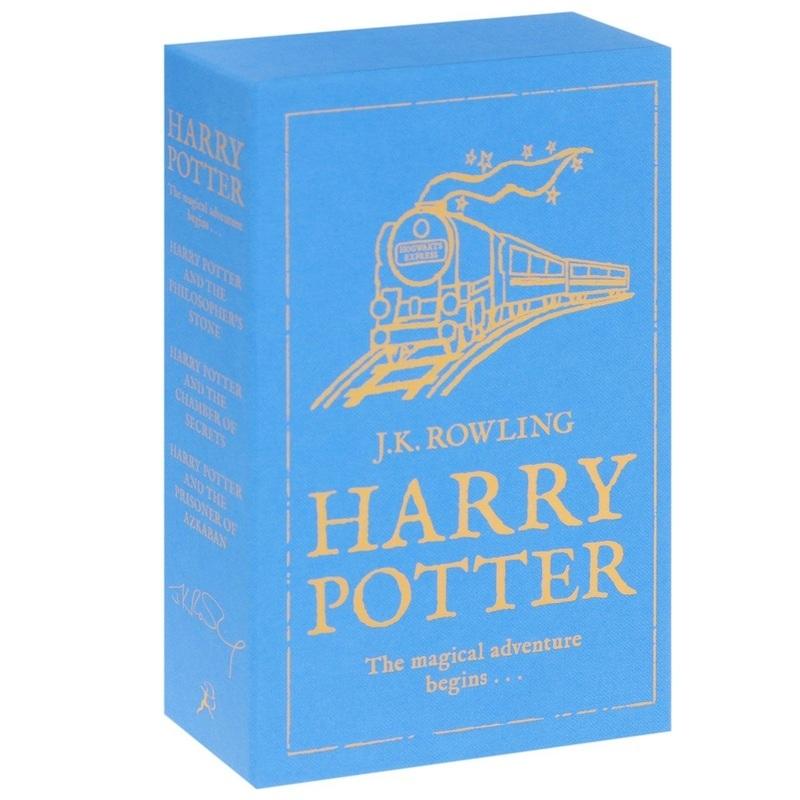"""Купить книгу """"Harry Potter: The Magical Adventure Begins (комплект из 3 книг)"""""""