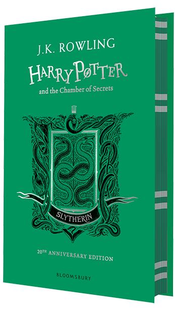 "Купить книгу ""Harry Potter and the Chamber of Secrets (Slytherin Edition)"""