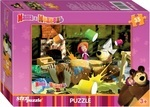 Пазл. Step Puzzle. Маша и медведь. 35 элементов (91120)
