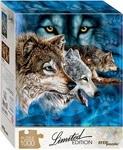 Пазл. Step Puzzle. Найди 12 волков. 1000 элементов (79806)
