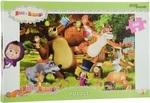 Пазл. Step Puzzle. Маша и Медведь. 560 элементов (97018)