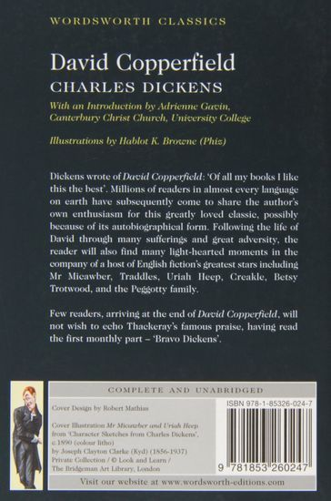 "Купить книгу ""David Copperfield"""