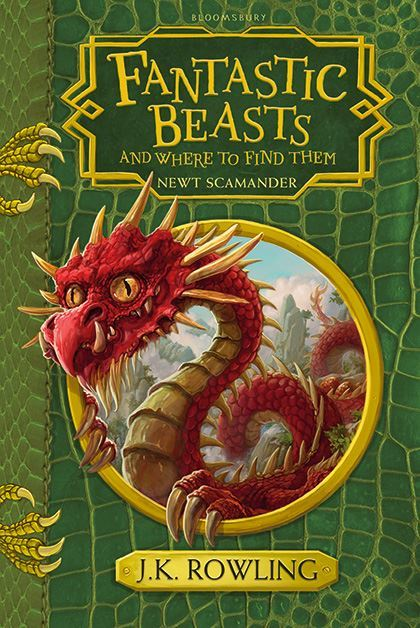 "Купить книгу ""Fantastic Beasts and Where to Find Them"""