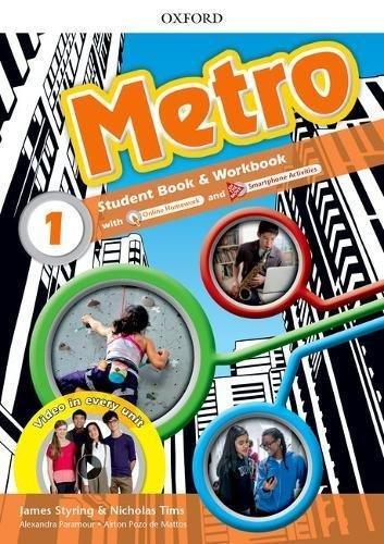 "Купить книгу ""Metro. Level 1. Student Book and Workbook Pack"""