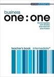 Business one:one. Intermediate. Teacher's Book (Oxford Business English)