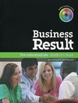 Business Result. Pre-intermediate. Student's Book (+ DVD-ROM)