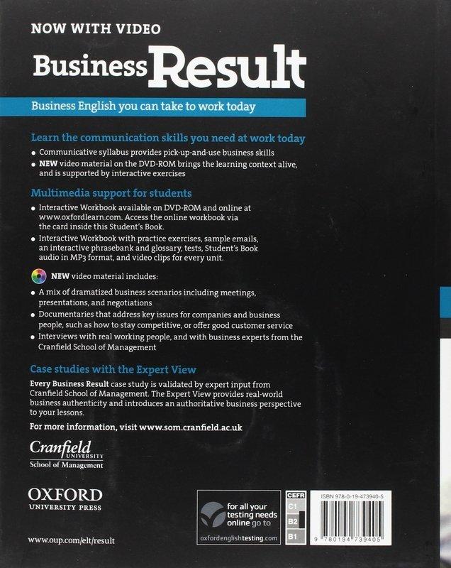 """Купить книгу """"Business Result. Upper-intermediate. Student's Book (+ DVD-ROM)"""""""
