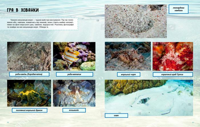 """Купить книгу """"Життя моря. Зошит"""""""