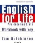 English for Life. Pre-intermediate. Workbook with Key