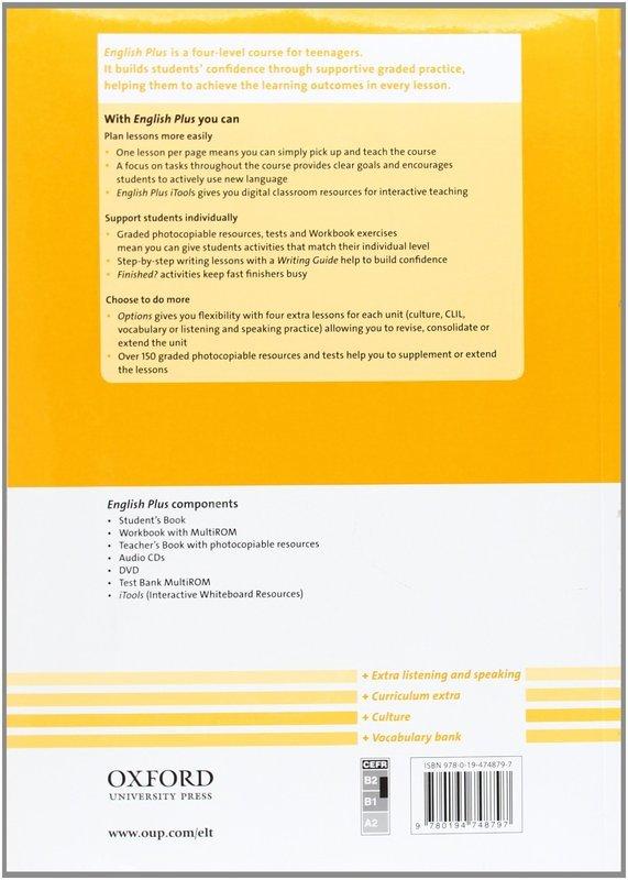 """Купить книгу """"English Plus 4. Workbook with MultiROM"""""""
