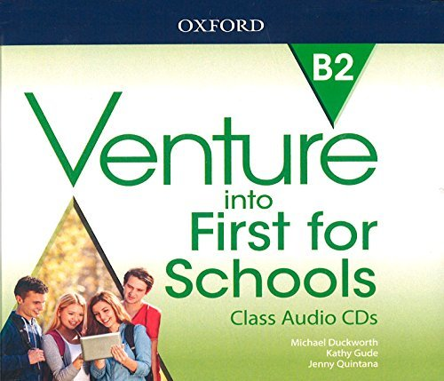 "Купить книгу ""Venture into First for Schools. Class Audio CDs"""