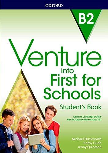 "Купить книгу ""Venture into First for Schools. Student's Book Pack"""