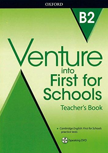 "Купить книгу ""Venture into First for Schools. Teacher's Book Pack"""