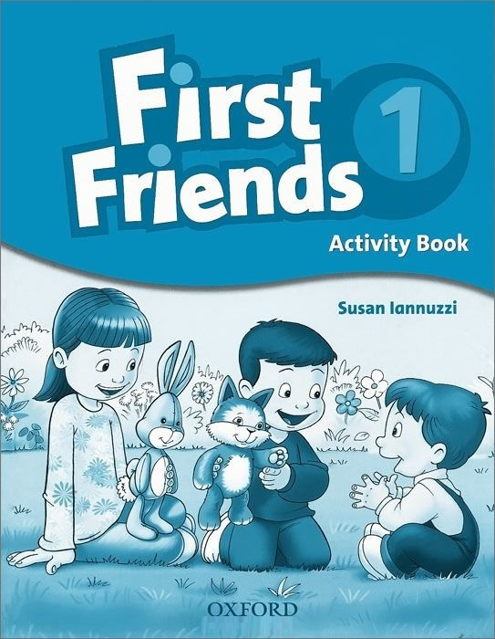 """Купить книгу """"First Friends 1. Activity Book"""""""