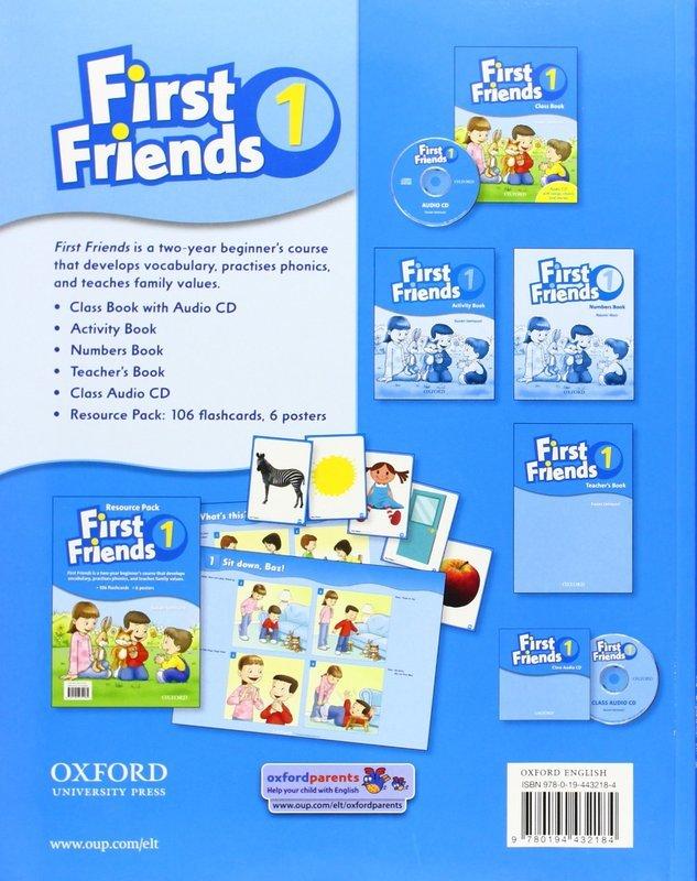 """Купить книгу """"First Friends 1. Class Book (+ CD)"""""""