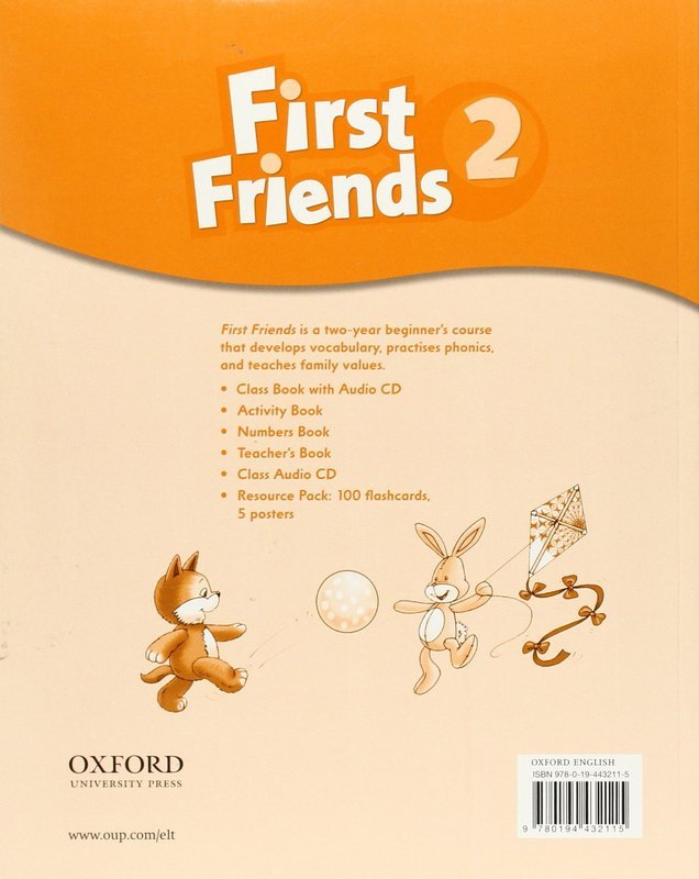 "Купить книгу ""First Friends 2. Activity Book"""