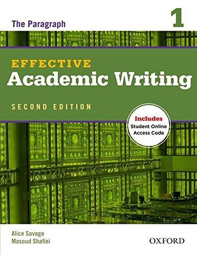 "Купить книгу ""Effective Academic Writing Second Edition. 1. Student Book"""
