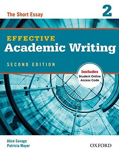 "Купить книгу ""Effective Academic Writing Second Edition. 2. Student Book"""