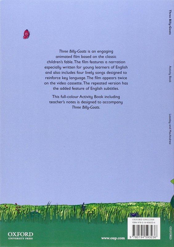 "Купить книгу ""Fairy Tales. Three Billy-Goats. Activity Book"""