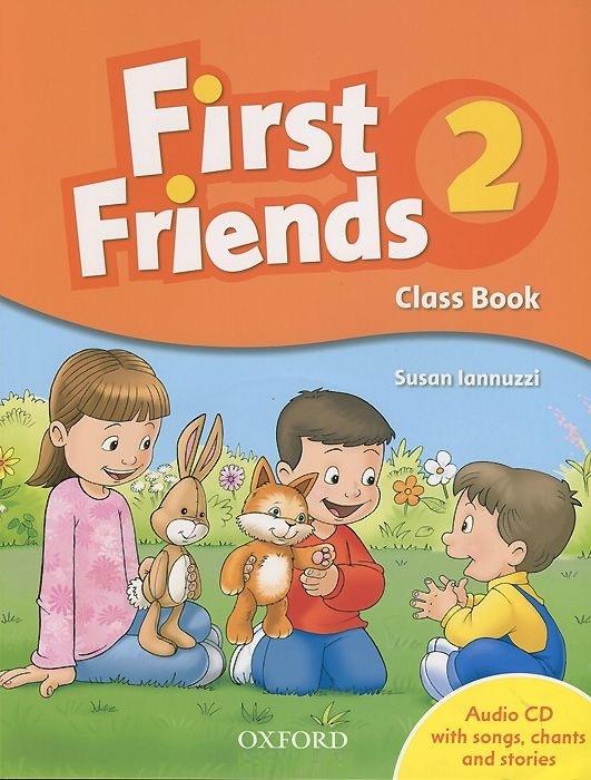 """Купить книгу """"First Friends 2. Class Book (+ CD)"""""""