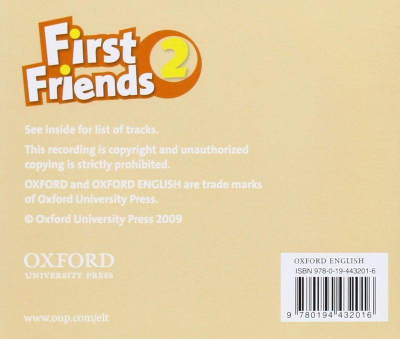 """Купить книгу """"First Friends 2 (аудиокурс CD)"""""""