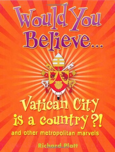 "Купить книгу ""Would You Believe... Vatican City is a country?!. and other metropolitan marvels"""