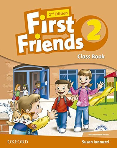 "Купить книгу ""First Friends. Level 2. Classbook (+ CD-ROM)"""