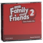 Family and Friends. Level 2. Class Audio CDs