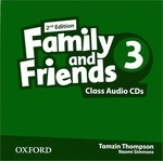 Family and Friends. Level 3 (Аудиокурс на 3 CD)