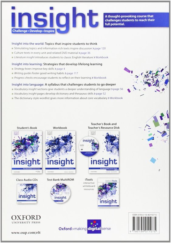 Insight. Pre-Intermediate. Student's Book - купить и читать книгу