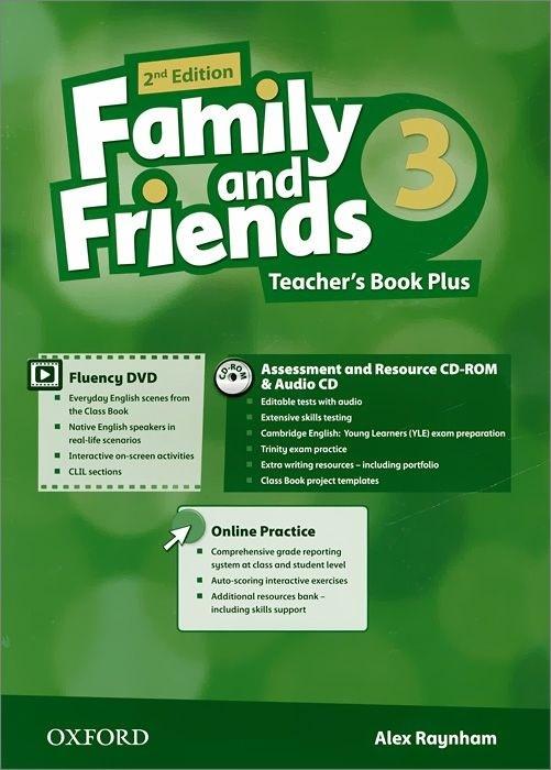 "Купить книгу ""Family and Friends. Level 3. Teacher's Book Plus with Online Practice (+ DVD, CD-ROM, CD)"""