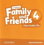 Family and Friends. Level 4. Class Audio CDs (аудиокурс на 3 CD)