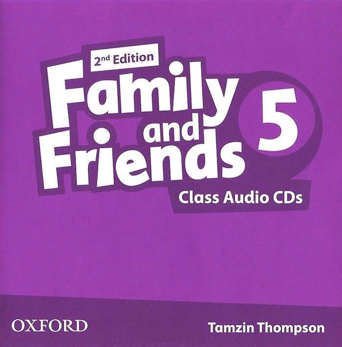 "Купить книгу ""Family and Friends. Level 5. Class Audio CDs"""