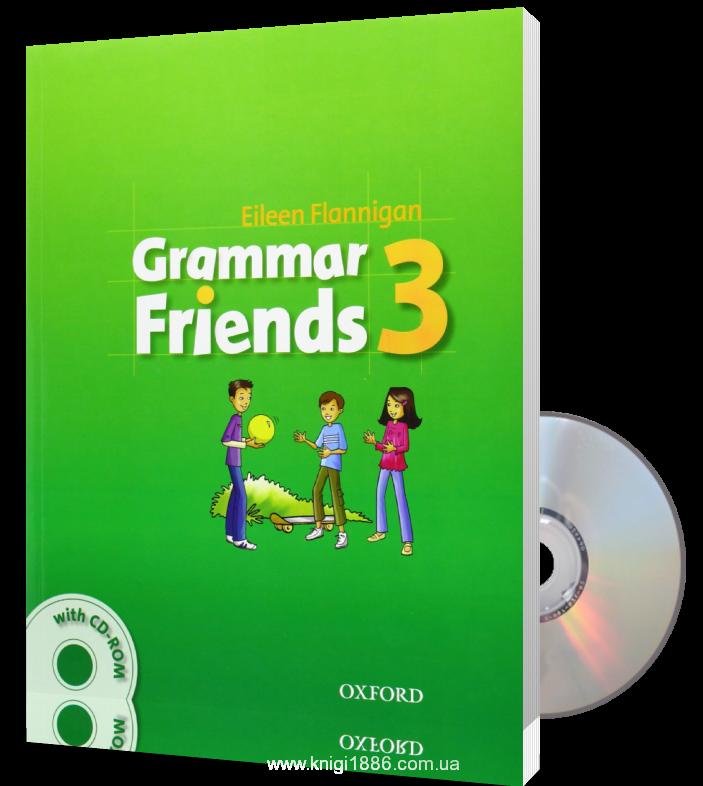 "Купить книгу ""Grammar Friends 3 (+ CD-ROM)"""