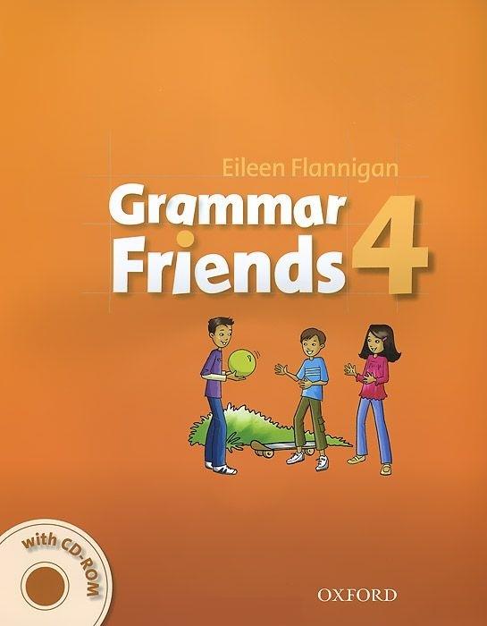 "Купить книгу ""Grammar Friends 4 (+ CD-ROM)"""