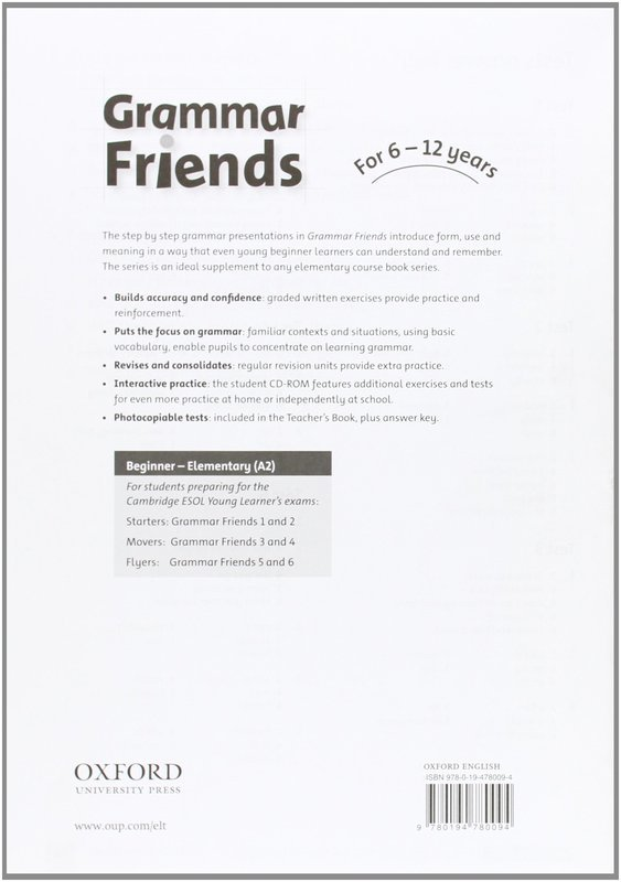 "Купить книгу ""Grammar Friends 4. Teacher's Book"""
