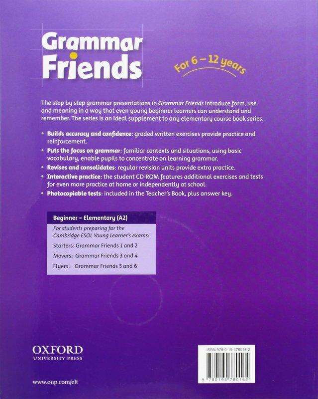"Купить книгу ""Grammar Friends 5 (+ CD-ROM)"""