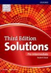 Solutions. Pre-Intermediate. Student's Book. Leading the way to success