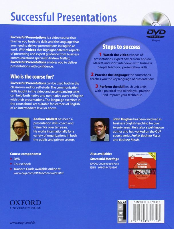 "Купить книгу ""Successful Presentations. DVD and Student's Book Pack. A video series teaching business communication skills for adult professionals"""