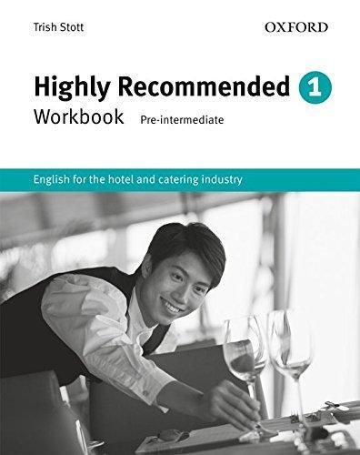 "Купить книгу ""Highly Recommended. 1. Workbook. English for the Hotel and Catering Industry"""